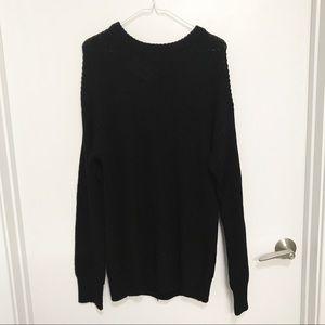 H&M Black Crewneck Sweater